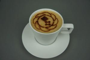 Kaffeeschablone für die Bremer Heimstiftung