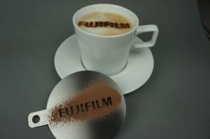 Kaffeeschablone für Fujifilm